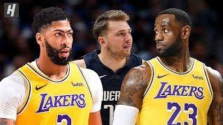 Los Angeles Lakers vs Dallas Mavericks - Full Highlights   November 1, 2019   2019-20 NBA Season