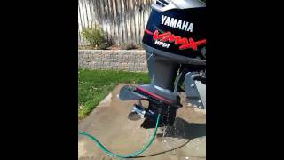 8. 175 horse yamaha v-max exaust sound out of water