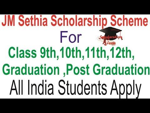 Graduation quotes - JM Sethia Scholarship Scheme 2019 for Class 9th, 10th, 11th , 12th, Graduation , Post Graduation