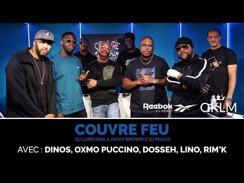 Oxmo Puccino, Lino, Rim39k, Dosseh et Dinos - CouvreFeu - en direct du Reebok Megastore