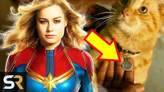 Captain Marvel: The Truth About Carol Danvers' Cat by Screen Rant