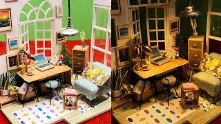DIY Miniature For Doll House - Room Decor
