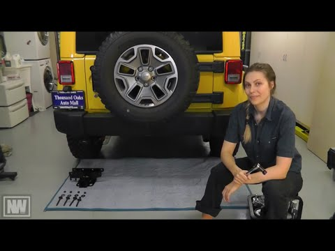 "Jeep Wrangler '07-'15 Tow Hitch and Trailer Wiring Install – ""NeWere4x4"""