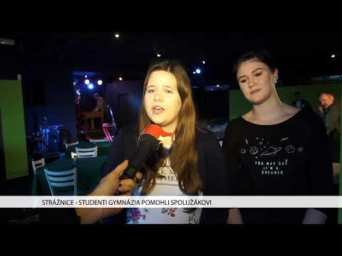 TVS: Strážnice - Studenti gymnázia pomohli spolužákovi