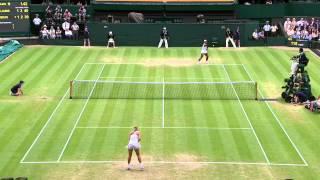 Tennis Highlights, Video - 2013 Day 7 Highlights: Serena Williams v Sabine Lisicki