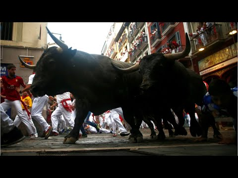 Two Americans gored in second Pamplona bull run of 2017