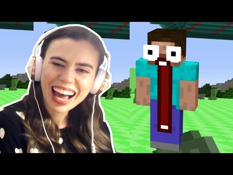 TRY NOT TO LAUGH CHALLENGE - FUNNY MINECRAFT FAILS COMPILATION (видео)