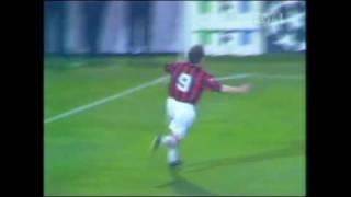 Papins Volleytor gegen den AC Milan