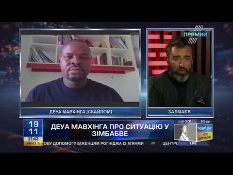 Питер Залмаев (Zalmayev) беседует с Dewa Mavginga о ситуации в Зимбабве (ПРЯМИЙ КАНАЛ)
