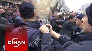 Polis amirinden, biber gazını sıkmakta tereddüt eden memura: Sık lan sık