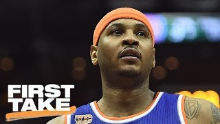 The First Take crew debates the best fit for Carmelo Anthony, with the Houston Rockets, Cleveland Cavaliers, Portland Trail Blazers or Oklahoma City Thunder as the four best options. ✔ Subscribe to ESPN on YouTube: es.pn/SUBSCRIBEtoYOUTUBE✔ Watch ESPN on YouTube TV: es.pn/YouTubeTVGet more ESPN on YouTube:► First Take: es.pn/FirstTakeonYouTube► SC6 with Michael & Jemele: es.pn/SC6onYouTube► SportsCenter with SVP: es/pn/SVPonYouTubeESPN on Social Media:► Follow on Twitter: http://www.twitter.com/espn► Like on Facebook: http://www.facebook.com/espn► Follow on Instagram: http://www.instagram.com/espnVisit ESPN on YouTube to get up-to-the-minute sports news coverage, scores, highlights and commentary for NFL, NHL, MLB, NBA, College Football, NCAA Basketball, soccer and more. More on ESPN.com: http://www.espn.com