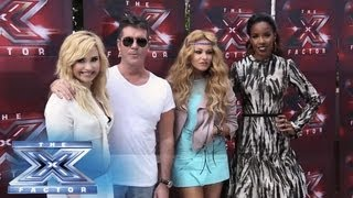 Season 3 Judges' Auditions - Los Angeles - THE X FACTOR USA 2013