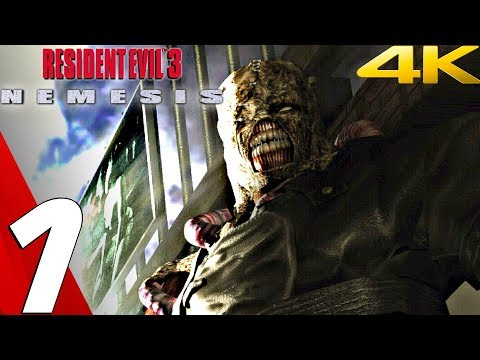 Resident Evil 3 HD - Gameplay Walkthrough Part 1 - Prologue [4K Ultra HD]