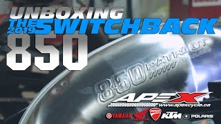 1. UNBOXING Polaris' 850 Patriot-Powered Switchback Snowmobiles