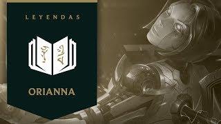 Orianna Fieram  Leyendas  Audiocuentos  League of Legends