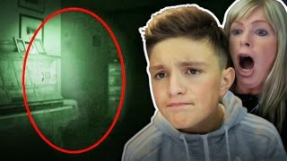 Reacting to *Real Ghosts Caught on Camera* 😱 With my Mum!
