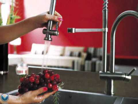 Video for Chrome Pull-Down Spray Kitchen Faucet