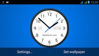 Light Analog Clock LW-7 YouTube video
