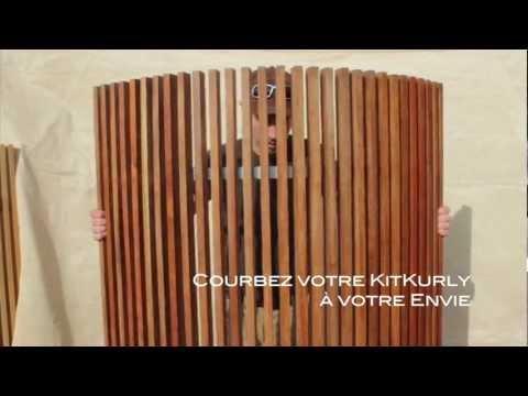 comment monter un brise vue en bois