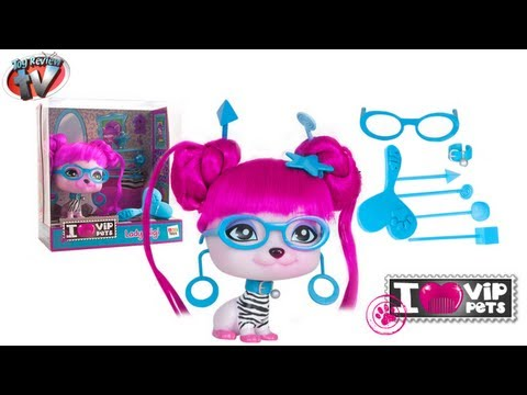 I ♥ VIP Pets Lady Gigi Doll Toy Review, IMC Toys