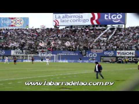 LBO 2011 DESDE EL SECTOR NORTE / La Copa Libertadores Tenemos 3 / Olimpia vs 25 Pagantes / Fecha 17/ - La Barra del Olimpia - Olimpia