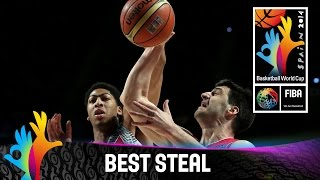 Check out Stefan Markovic's steal against the USA. The 2014 FIBA Basketball World Cup will take place in Spain from 30 August - 14 September and will feature...