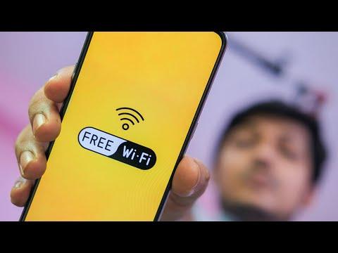 ফ্রী ওয়াইফাই। বিনামূল্যে #WiFi সেফ জন WiFi এ সিকিউর স্থিত হয়