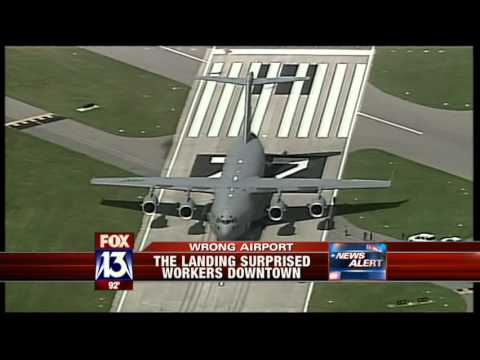 Air Force Plane Lands On Wrong Airstrip