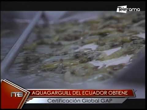 Aquagarguill del Ecuador obtiene certificación Global GAP