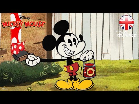 MICKEY MOUSE SHORTS   House Painters   Official Disney UK