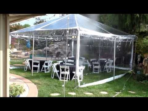 Best canopy ever! : Clear top canopy: Evening party tent: Party tent: Wedding tent: