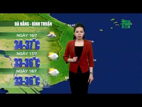Thời tiết 12h 15/07/2019: Thời tiết Hà Nội duy trì oi bức| VTC14