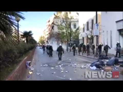 Video - Χαρίτσης: Οι εικόνες στην ΑΣΟΕΕ προσβάλλουν βάναυσα το ελληνικό πανεπιστήμιο