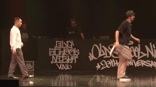 Poppin DS vs Maccho – OLD SCHOOL NIGHT VOL.20 POPPING 1on1 BATTLE BEST8