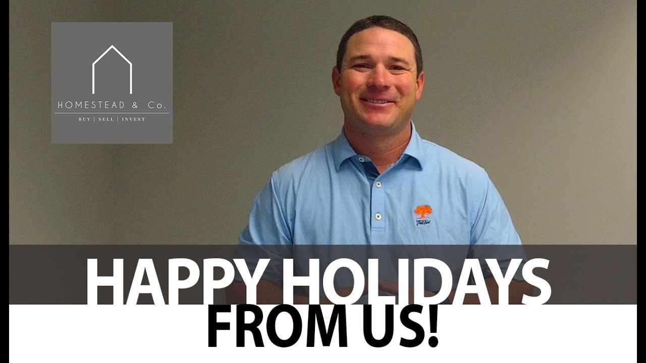 Happy Holidays From Homestead and Co.