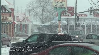 Ames, IA, Winter Storm - 12/10/2016 Video