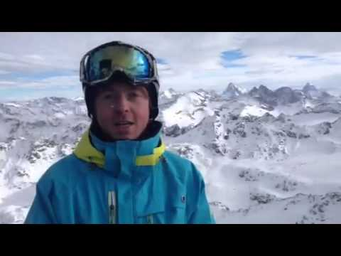 Harry EA rep shows us the epic peaks at Verbier