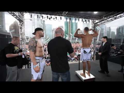 UFC 131 Weigh In Highlight: Dos Santos vs Carwin