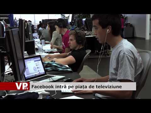 Facebook intră pe piața de televiziune