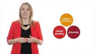 Aoife Flood, schrijver van het rapport over mobiliteit, licht de resultaten van het onderzoek onder bijna 4000 vrouwen wereldwijd toe.