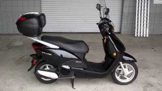 5. Used 2010 Honda Elite 110 Scooter For Sale at Honda of Chattanooga / TN GA AL Scooters