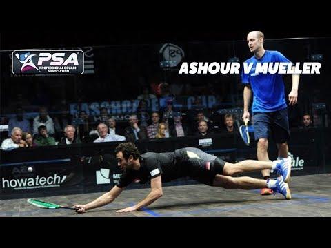 PSA Rewind: Ashour v Müller - 2015 Grasshopper Cup - Full Squash Match