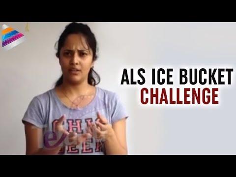 ALS Ice Bucket Challenge - Anchor Anasuya