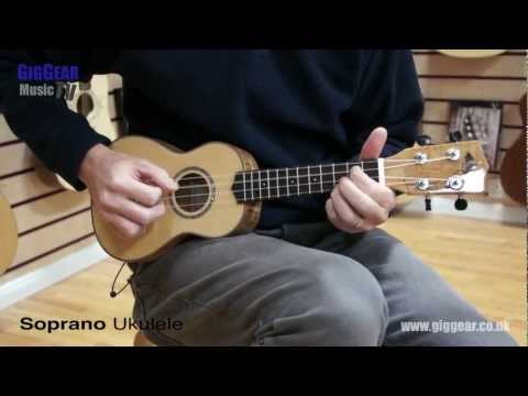 Concert Ukulele - http://www.giggear.co.uk/c/Ukulele-2/ What size Ukulele should I buy? What is the best size Ukulele? Here is a Ukulele comparison video comparing 3 different...