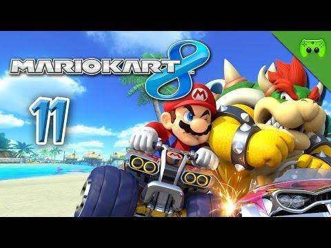 Mario Kart 8 # 11 - Showdown Donut Curcuit «» Let's Play Mario Kart 8 | HD