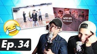 Video GUYS REACT TO 'RUN BTS' EP. 34 MP3, 3GP, MP4, WEBM, AVI, FLV Agustus 2018
