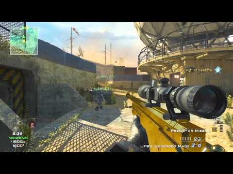 mw3 sniper gameplay - Here is my first MW3 gameplay commentary for you all! Hope you enjoy! FOLLOW ME ON TWITTER: http://twitter.com/OpTic_McKeown.