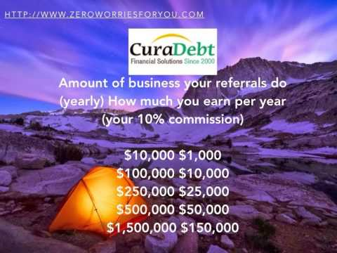 Work From Home Opportunity - Deal Debt a Fatal Blow with CuraDebt
