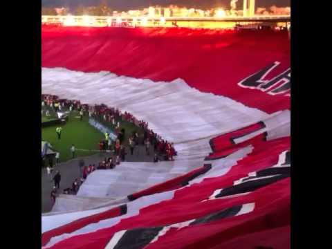 ¡!UNA SOLA HINCHADA¡! Lgars - La Guardia Albi Roja Sur - Independiente Santa Fe