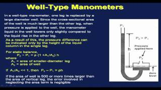 Mod-01 Lec-42 Pressure Measurement